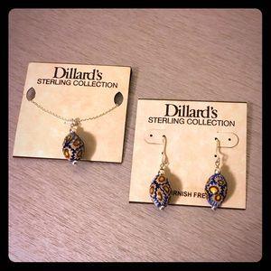 Sterling Silver Set by Dillard's